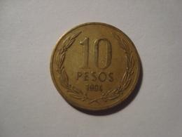MONNAIE CHILI 10 PESOS 1994 - Chile