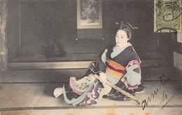 CPA Japon - Musicienne - Tokyo