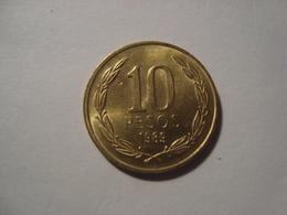 MONNAIE CHILI 10 PESOS 1989 - Chile