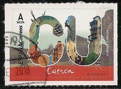 2018-ED. 5185 - 12 Meses, 12 Sellos.  - CUENCA - USADO- - 2011-... Used