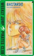 Télécarte Japon / 110-011 - MANGA - WEEKLY JUMP PIRATES CLUB - BASTARD - ANIME Japan Phonecard - 11879 - Comics