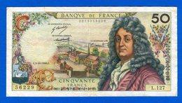 50  Fr  Du  3/10/1968 - 1962-1997 ''Francs''