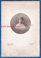 Photo Ancienne - PARIS - Beau Portrait D'une Femme à Identifier - Photographe Warsa 16 Rue Duphot - Mode Fille Pose Robe - Fotos