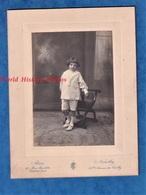 Photo Ancienne - PARIS / NEUILLY - Beau Portrait D'un Enfant - Photographe Union Photographique Française - Garçon Fille - Fotos