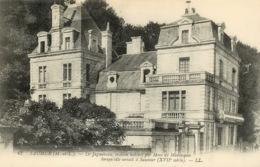 Saumur, Le Jagueneau, Maison Habitée Par Madame De Montespan (scan Recto-verso) KEVREN0325 - Saumur