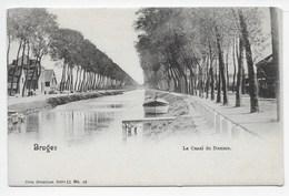 Bruges - Le Canal De Damme - Dos Simple - Nels Serie 12 No. 49 - Brugge
