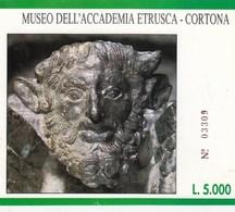 BIGLIETTO D INGRESSO- MUSEO DELL ACCADEMIA ETRUSCA - CORTONA- - Toegangskaarten