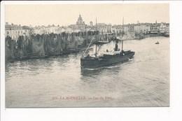 Carte De La Rochelle  Vue Du Port ( Bateau ) - La Rochelle