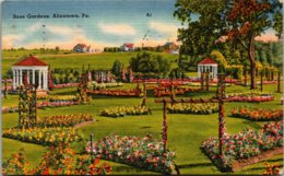 Pennsylvania Allentown Rose Gardens 1945 - United States