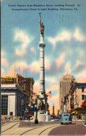 Pennsylvania Allentown Center Street From Hamilton Street 1945 - United States