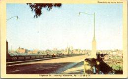 Pennsylvania Allentown Tilghman Street Entering Allentown Dexter Press - United States