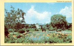Pennsylvania Allentown Art Museum And Gardens Dexter Press - United States
