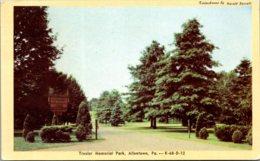 Pennsylvania Allentown Trexler Memorial Park 1950 Dexter Press - United States