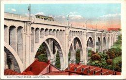 Pennsylvania Allentown Eighth Street Bridge Curteich - United States