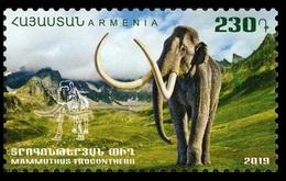 2019Armenia1112Prehistoric Animals - Mammoth - Prehistorics