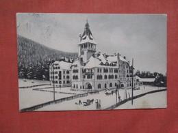 Semmering. Hotel Erzherzog Johann. Has Stamp & Cancel   Ref 3843 - Semmering