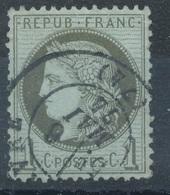 N°50 CACHET A DAYTE BELLE FRAPPE. - 1871-1875 Ceres