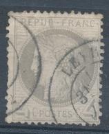 N°52 CACHET A DAYTE BELLE FRAPPE. - 1871-1875 Ceres