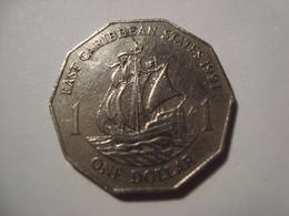 MONNAIE CARAIBES ORIENTALES 1 DOLLAR 1991 - East Caribbean States