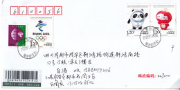 China 2020-2 Mascots Of The Olympic And Paralympic Winter Games Bijing 2022 Stamps Entired First Day Cover - Winter 2022: Peking