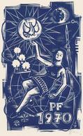 Neujahrskarte  Nieuwjaarskaart 1970 Erhard Zierold (1920-2005) - Prenten & Gravure