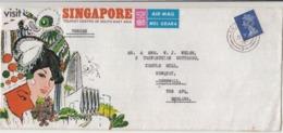 Singapore / Airmail / Military Mail / Machins - Singapore (1959-...)