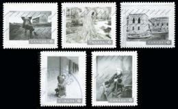 Canada (Scott No.3012-16 - Canadian Photographe Serie 5) (o) - 1952-.... Règne D'Elizabeth II