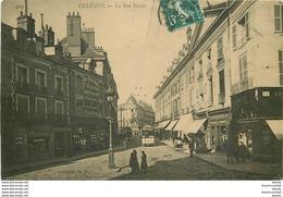 WW Promo 2 Cpa 45 ORLEANS. Rue Royale Et Fête Jeanne D'Arc En Carte Double Panoramique 1902 - Orleans