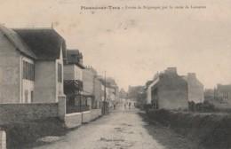I19- 29) PLOUNEOUR  TREZ  (FINISTERE) ENTREE DE BRIGNOGNAN , PAR LA ROUTE DE LESNEVEN  - (2 SCANS) - Francia