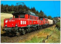 AK Eisenbahn Sankt Jakob Im Rosental Rosenbach Podrožca Karawankenbahn St.i.ÖBB Krauss-Maffei/AEG Šentjakob - Eisenbahnen