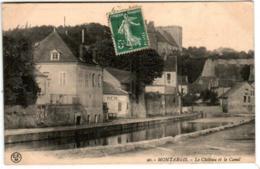 61lz 1501 CPA - MONTARGIS - LE CHATEAU ET LE CANAL - Montargis