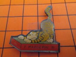 2719 Pin's Pins / Beau Et Rare  / THEME ANIMAUX / CHAT DESSINE PAR MARGERIN 91 Pour FIDO Par WINNER - Animaux