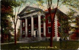 Pennsylvania Athens Spaulding Memorial Library - United States