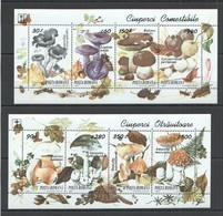 RM005 2003 ROMANIA NATURE FLORA MUSHROOMS #5005-5012 2KB MNH - Mushrooms