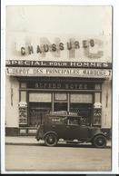 Devanture De Magasin Alfred Boyer Chaussures,carte Photo Chateauneuf Pour Nimes Avignon Montpellier Ales Sete Carpentras - Non Classés