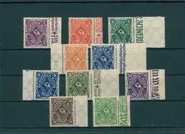 DEUTSCHES REICH 1923 Nr 224-232 Postfrisch (204124) - Deutschland