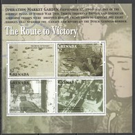PK440 GRENADA WORLD WAR II MARKET GARDEN ROUTE TO VICTORY 1KB MNH - Guerre Mondiale (Seconde)