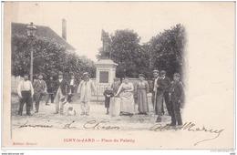 MARNE IGNY LE JARD PLACE DU PALATIN - France