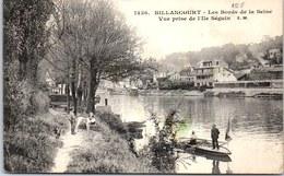 92 BILLANCOURT - Les Bords De La Seine Vue Prise De L'ile Séguin - Boulogne Billancourt