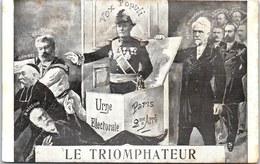 THEMES - POLITIQUE - Le Triomphateur. - Satiriques