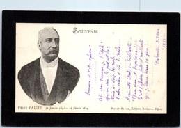 THEMES - POLITIQUE - Le Président Félix Fure (carte Décès) - Satiriques