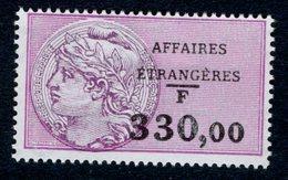 Timbre Fiscal (fiscaux) - Affaires Etrangères N° 41 Neuf - Fiscali