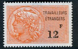 Timbre Fiscal (fiscaux) - Travailleurs Etrangers N° 16 Neuf - Revenue Stamps