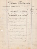 FURES CHARLES DEBERNARDY ENTREPRENEUR ANNEE 1924 - France