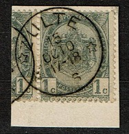 53 Sans Bdl Obl Relais  Zulte  + 30 - 1893-1907 Wappen
