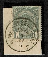 81 Sans Bdl Obl Relais Wannegem-Lede  + 20 - 1893-1907 Armarios