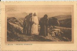 I DISCEPOLI D'EMMAUS VIAGGIATA 1928   (173) - Cristianesimo
