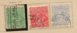 AUSTRALIE CONFEDERATION 1914 A 1927   3ème - 1913-36 George V: Sonstige Abb.