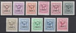 Belgique:  Préoblitérés Série 58 De 1965 COB N° PRE 758/68 **, MNH, TTB - Typo Precancels 1951-80 (Figure On Lion)