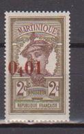 MARTINIQUE        N°  YVERT  :  105  NEUF AVEC  CHARNIERES      ( Ch 2/30 ) - Ungebraucht